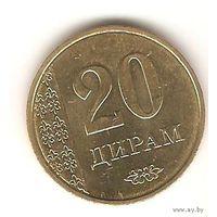 20 дирам 2011 Таджикистан