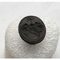 Печать гербовая старинная