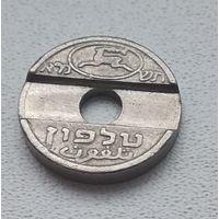 Израиль, Телефонный жетон  4-1-36