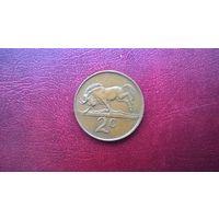 ЮАР 2 цента, 1989г. (а-7)