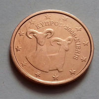 2 евроцента, Кипр 2008 г., AU