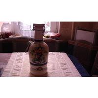 """Бутылка с пробкой """"GLORIA BAVARIA"""" 2.0 распродажа"""