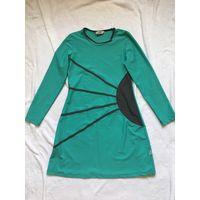 Платье 44-46 Турция цвет бирюзовый