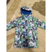 Куртка утепленная  для мальчика р. 140-152