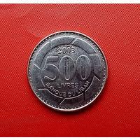 49-05 Ливан, 500 ливров 2003 г. Единственное предложение монеты данного года на АУ