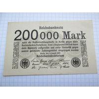 Германия, 200 000 марок 1923 год