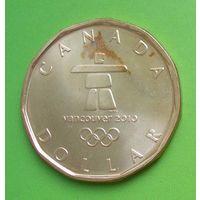 Канада 1 доллар 2010 Олимпиада в Ванкувере