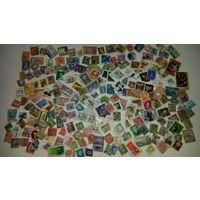 600 марок с повреждениями