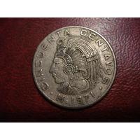 50 сентаво 1971 года Мексика