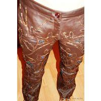 Кожаные зимние Итальянские брюки фирмы Арарат р. 44-46