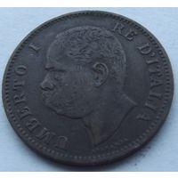 Италия. 5 чентезими 1895.