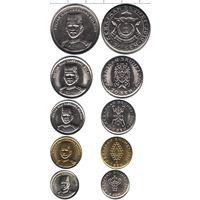 Бруней набор 5 монет 2008-2011 UNC