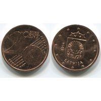 Латвия. 2 евроцента (2014)