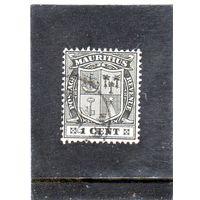 Маврикий.Ми-131. Герб Маврикия.1910.