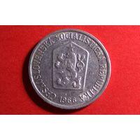 10 геллеров 1966. Чехословакия. Хорошая!