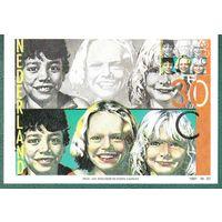 НИДЕРЛАНДЫ  1981 г. карточка  Дети  20