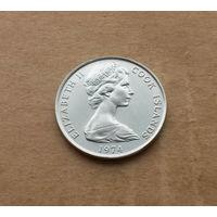 Острова Кука, 10 центов 1974 г.