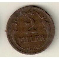 Венгрия 2 филлер 1930