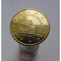 50 евроцентов 2016 Кипр UNC из ролла