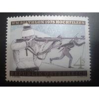 Австрия 1978 биатлон