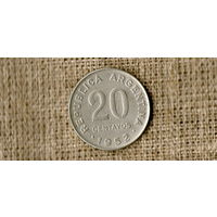 Аргентина 20 сентаво 1952 //(ON)