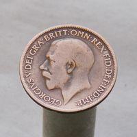 Великобритания  1/2 пенни,  1920