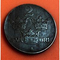 70-17 Швеция, 2 эре 1945 г.