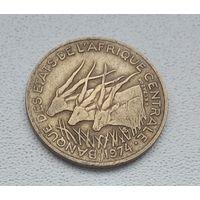 Центральная Африка 10 франков, 1974 8-4-10