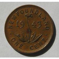 Ньюфаундленд, 1 Цент 1943 (14)