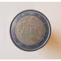 2 евро Испания 2007 50 лет подписания Римского договора