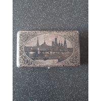 Портсигар серебро Россия 125 грамм.