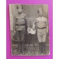 """Фото """"Солдаты"""", ПМВ, до 1917 г."""
