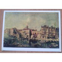 Мариески Микеле. Вид Большого канала в Венеции. 1981 г.