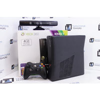 Консоль Microsoft Xbox 360 Slim 4GB (LT 3.0) + kinect. Гарантия