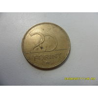 20 форинтов Венгрия 1995 год,KM# 696 ,20 FORINT - из мешка