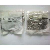 Шайбы под гайку фиксирующие А8,4 VA (4 пакетика)