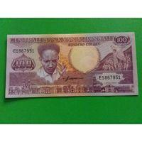 Суринам 100 гульден 1986 год состояние UNC