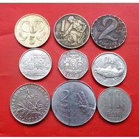 9 монеток - 9 стран. #53 Старт с 10 копеек.