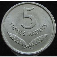 Мали 5 франков 1961 (2-300)