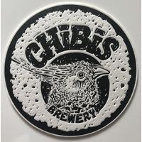 Подставка под пиво пивоварни Chibis brewery /Россия/