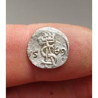 Двойной динарий , двуденарий 1569