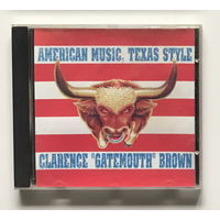 Audio CD, CLARENCE GATEMOUTH BROWN – AMERICAN MUSIC,TEXAS STYLE - 1999