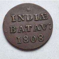 Голландская Ост-Индия 1/16 гульдена, 1808 3-5-12
