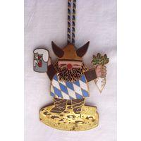 Наградная медаль Карнавал Наррагония Regensburg Германия 1970