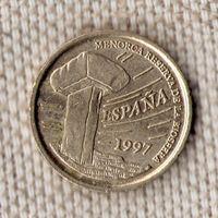 Испания 5 песет 1997/Всадник/(Oct)