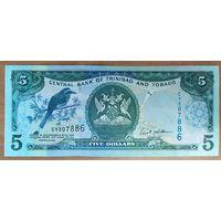 5 долларов 2006 года - Тринидад и Тобаго - UNC