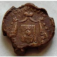 Пломба с гербом