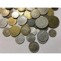 Сборный лот #1.6 - 50 монет, все разные, без СССР и СНГ