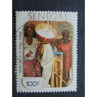 Сенегал 1986г. Культура.