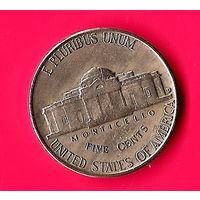 27-35 США, 5 центов 1958 г. Единственное предложение монеты данного года на АУ